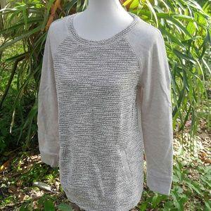 Lou & Grey signature plush sweatshirt sz LG